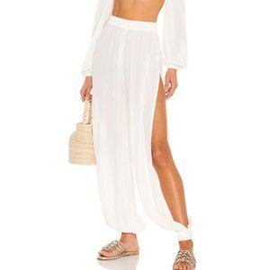 TULAROSA Orin Pant in ivory size SMALL